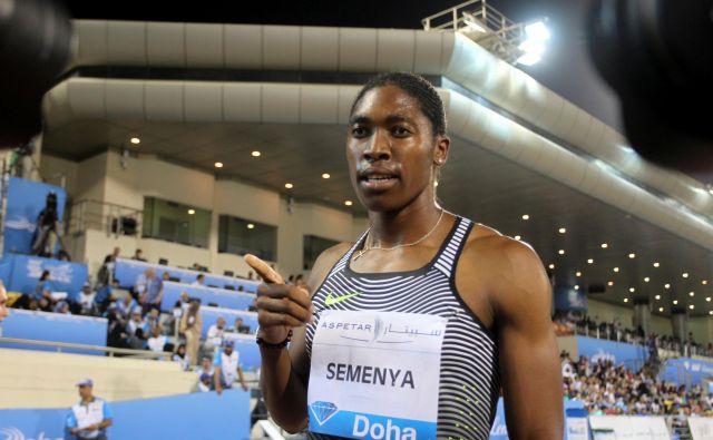 Caster Semenya je prirojena posebnost omogočala tekaško prednost pred drugimi atletinjam. FOTO: Ibraheem Al Omari/Reuters