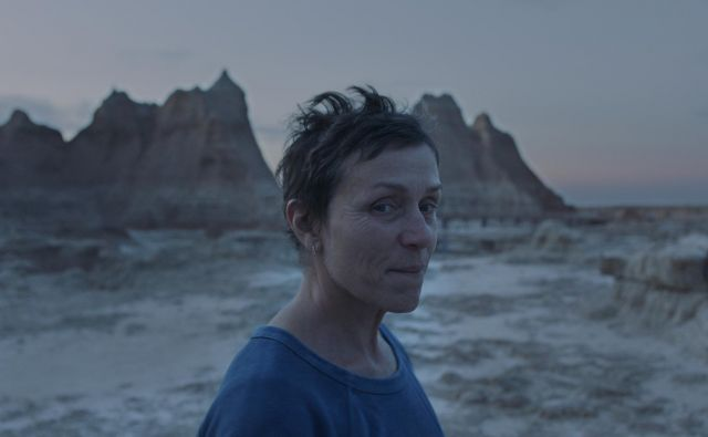 Frances McDormand v filmu NOMADLAND. Foto Courtesy Of Searchlight Pictures