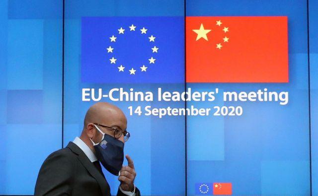 V vakuumu med oslabelim »ameriškim« in nedozorelim »kitajskim stoletjem« bo EU izredno pomembna kot most med dvema obdobjema. FOTO: Yves Herman Afp
