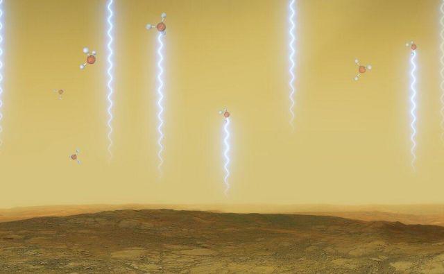 V kislih oblakih nad površjem Venere so astrobiologi s pomočjo mreže teleskopov Alma v Čilu in teleskopa James Clerk Maxwell na Havajih odkrili fosfin. Foto Eso/Reuters