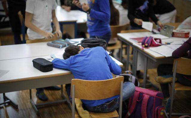 Ko pridemo v šolska leta, je tukaj spet stres – pred domačimi nalogami, testi, spraševanji, stres pred očitki drugih ljudi. Foto Uroš Hočevar/Delo