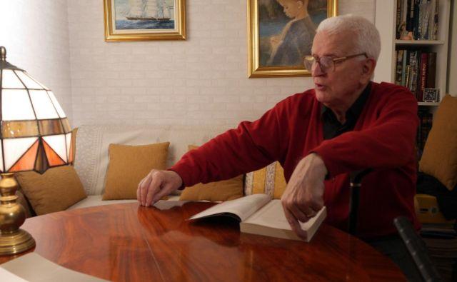 Foto www.facebook.com/Televizija.Slovenija: Gospoda gre čez progo - portret dr. Vladimirja Sruka