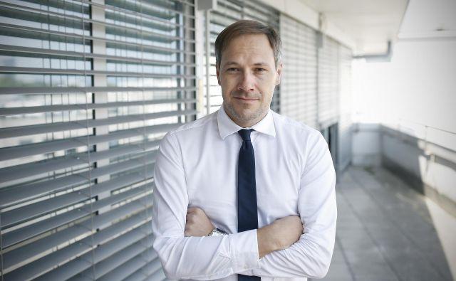 »Moja vizija je osvajati nove trge in dopolnjevati sistem z novimi rešitvami, ki so plod raziskav in razvoja,« pravi Mark Umberger. Foto Blaž Samec