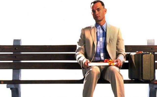 Filmska priredba romana Forrest Gump je prejela šest oskarjev, med drugim za najboljši film. FOTO: Promocijsko gradivo