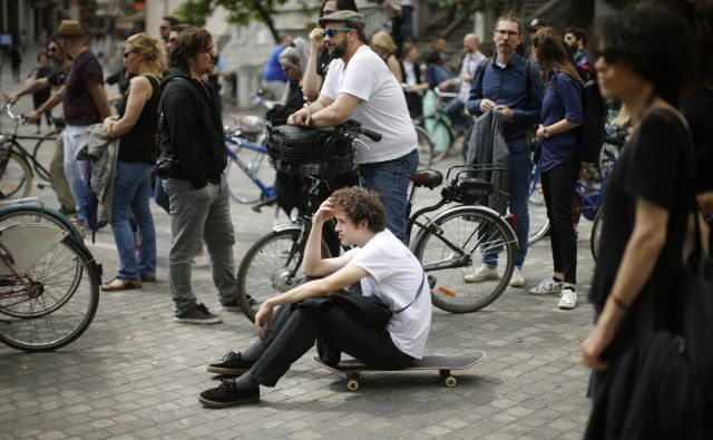 Slovenski umetniki so nezadovoljni z delom Ministrstva za kulturo. FOTO: Jure Eržen/delo