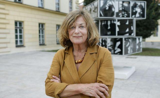 Marijana Brecelj – z Grahovega v Ljubljano. FOTO: Blaž Samec