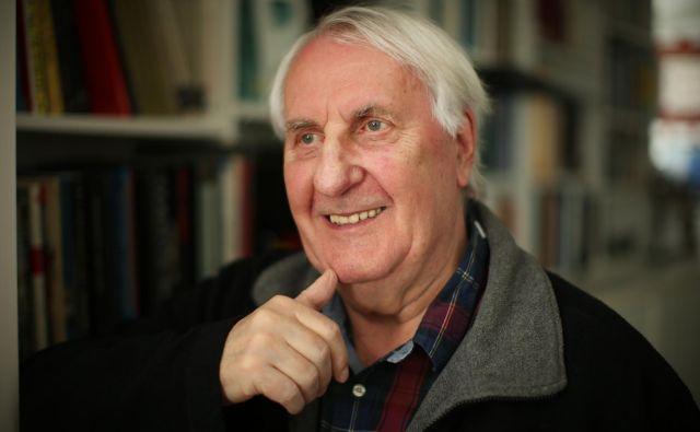 Branko Šömen je izdal roman o grozotah v koncentracijskem taborišču Auschwitz. FOTO: Jure Eržen