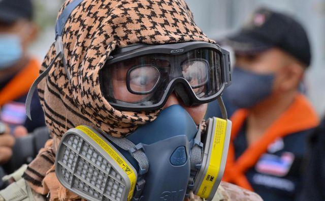 V Bangkoku je vse bolj prisotno ozračje globoke politične krize.<br /> FOTO: Mladen Antonov/AFP