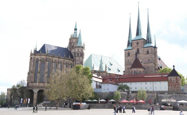 Erfurt, glavno in največje mesto v Turingiji, ima približno 215.000 prebivalcev. FOTO: Milan Ilić