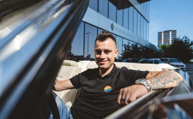 Omar Naber se vrača k avtorstvu. FOTO: Kerim Vodnik