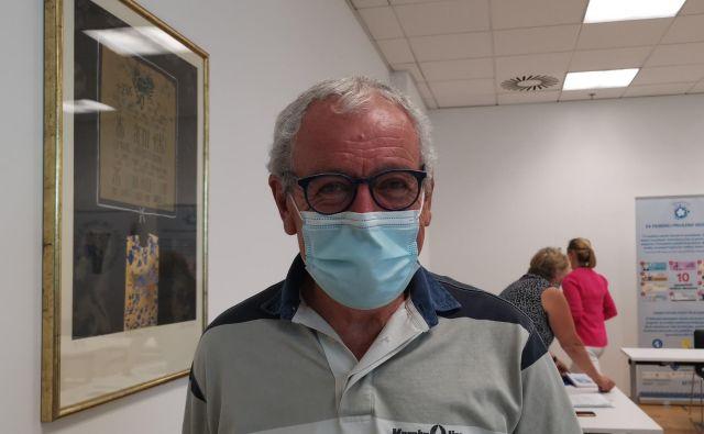 »Vsem sem povedal, da imam demenco, a nisem doživel nobene žalitve, sprejemajo me takega, kot sem,« je povedal Tomaž Gržinič, ki že štiri leta živi z diagnozo demence. FOTO: Milena Zupanič/Delo