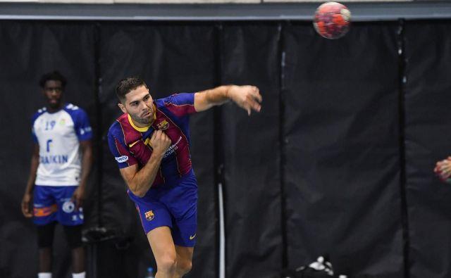 Blaž Janc bo prvič zaigral v sloviti Blaugrani. FOTO: Paco Largo/FC Barcelona