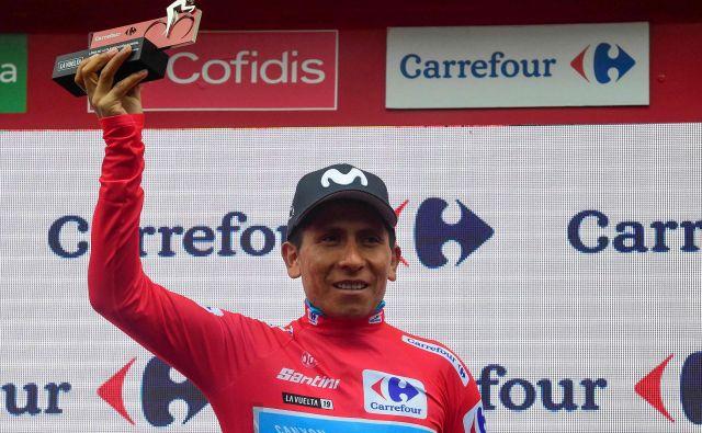 Kolumbijski kolesarski zvezdnik Nairo Quintana se je znašel v neprijetni preiksvai frasncoskih lovcev na dopinške grešnike. FOTO: Jose Jordan/AFP