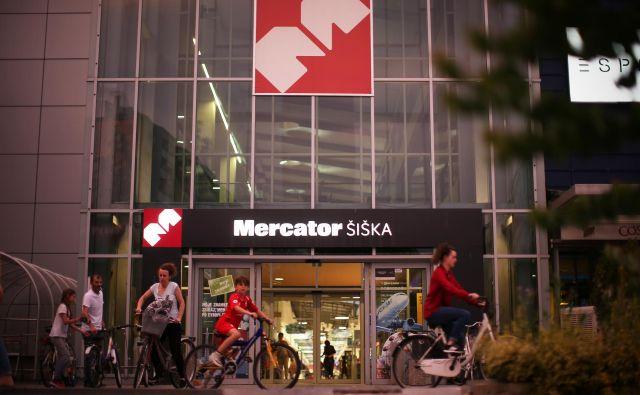 Skupina Mercator je kljub epidemiji povečala prihodke. Foto Jure Eržen/Delo