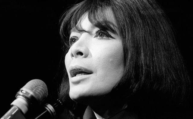 Juliette Gréco leta1968.<br /> FOTO: AFP
