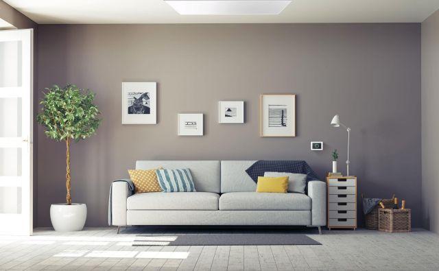 Infrardeči paneli (IR-paneli) so videti kot plošče iz različnih materialov (pločevine, umetne mase, stekla, kamna, lahko so poslikani), ki jih namestimo na strop ali steno. Foto Ekosen