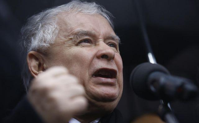 Jaroslaw Kaczynski FOTO: Kacper Pempel/Reuters