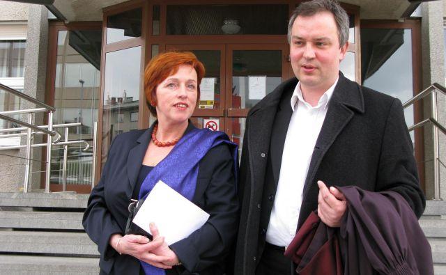Radovan Cerjak (na fotografiji na desni) je po mnenju DNS neprimeren za položaj nadzornika STA. FOTO: Hanc Marjana