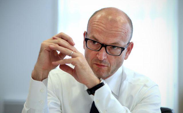Nekdanji guverner Boštjan Jazbec se želi pridružiti najožji ekipi ECB.<br /> Foto Blaž Samec