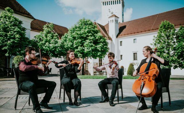 Godalni kvartet Emona FOTO: Festival Ljubljana