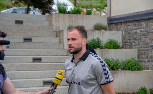Uroš Zorman ne bi mogel bolje začeti trenerske poti pri Trimu. FOTO: Domen Laznik/Lapego