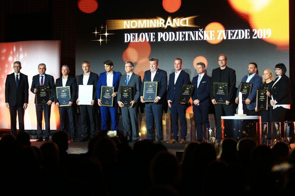 Nominiranci letošnjih Delovih podjetniških zvezd