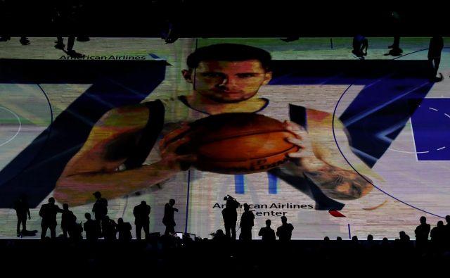 Luka Dončić se bo kmalu povzpel bistveno višje na lestvici magazina SportsPro. FOTO: Ronald Martinez/AFP