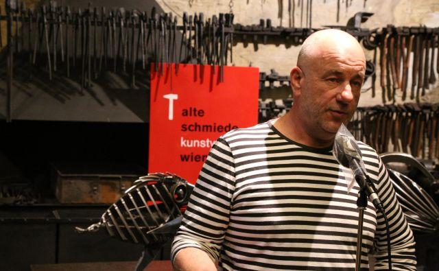 Robert Jurak je kovinar in ima svojo kovačnico. FOTO:Milan Ilić