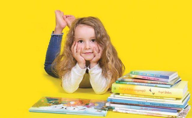 Za zdravo rast otrok potrebuje vitamine. Da bo uresničil svoje sanje, pa potrebuje knjige in branje. Foto Saša Kovačič
