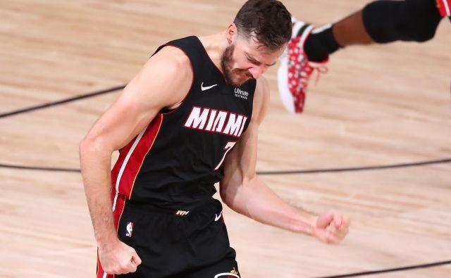 Ni prvi Slovenec v finalu lige NBA, v primeru zmagoslavja ne bo prvi Slovenec s šampionskim prstanom, a še nihče ni prišel do finala s tako pomembno vlogo v ekipi. FOTO: Reuters