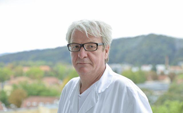Prof. dr. Zlatko Fras, strokovni direktor interne klinike