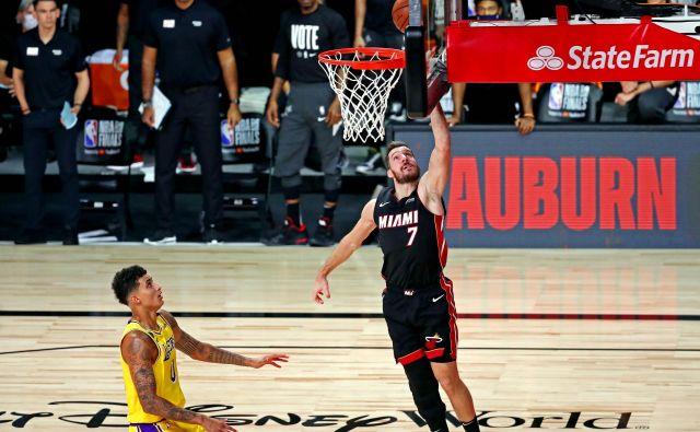 Za Gorana Dragića se prva finalna tekma NBA ni razpletla po željah, o resnosti poškodbe pa bo znano več po podrobnem pregledu. FOTO: Kim Klement/USA Today Sports