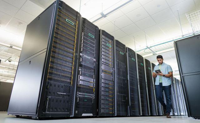 Storitve informacijske infrastrukture Pošte Slovenije (PS) delujejo na potrojeni strojni opremi HPE. FOTO: Hpe Brand
