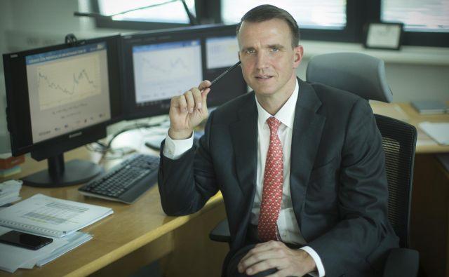 Stojan Nikolić, generalni direktor HSE - Holding Slovenske elektrarne. Foto Foto: Jure Eržen/Delo