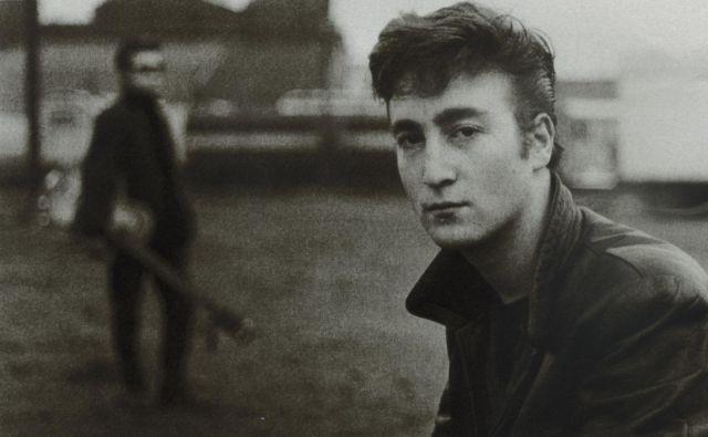 John Lennon v mladih letih. FOTO: dokumentacija Dela