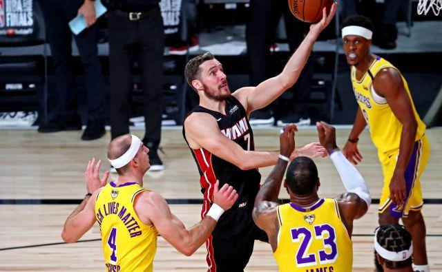 Goran Dragić se je poškodoval že v prvem polčasu prve tekme finala lige NBA. FOTO: Kim Klement/USA Today Sports