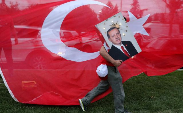 Turčija je v zadnjih štirih letih aktivno vstopila v vojne v Siriji, Iraku in Libiji. Foto Goran Tomašević/Reuters