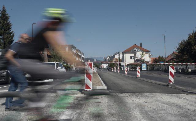 Prenova Dunajske ceste severno od obvoznice je zaključena. FOTO: Uroš Hočevar/Delo
