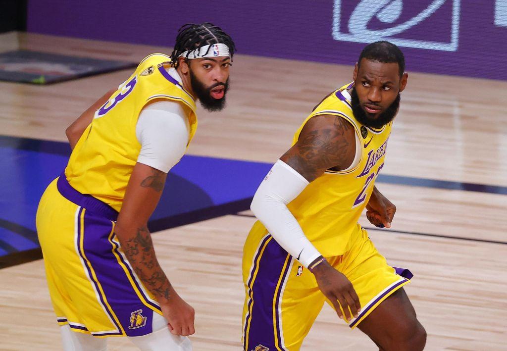 FOTO:Nekoč sta blestela Kobe in Shaq, zdaj LeBron in AD