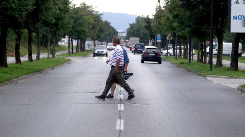 Letni čas, ko so pešci najbolj ogroženi