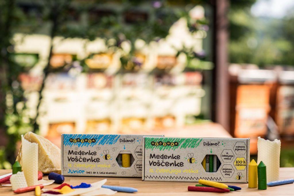 Inovativna uporaba slovenskega čebeljega voska