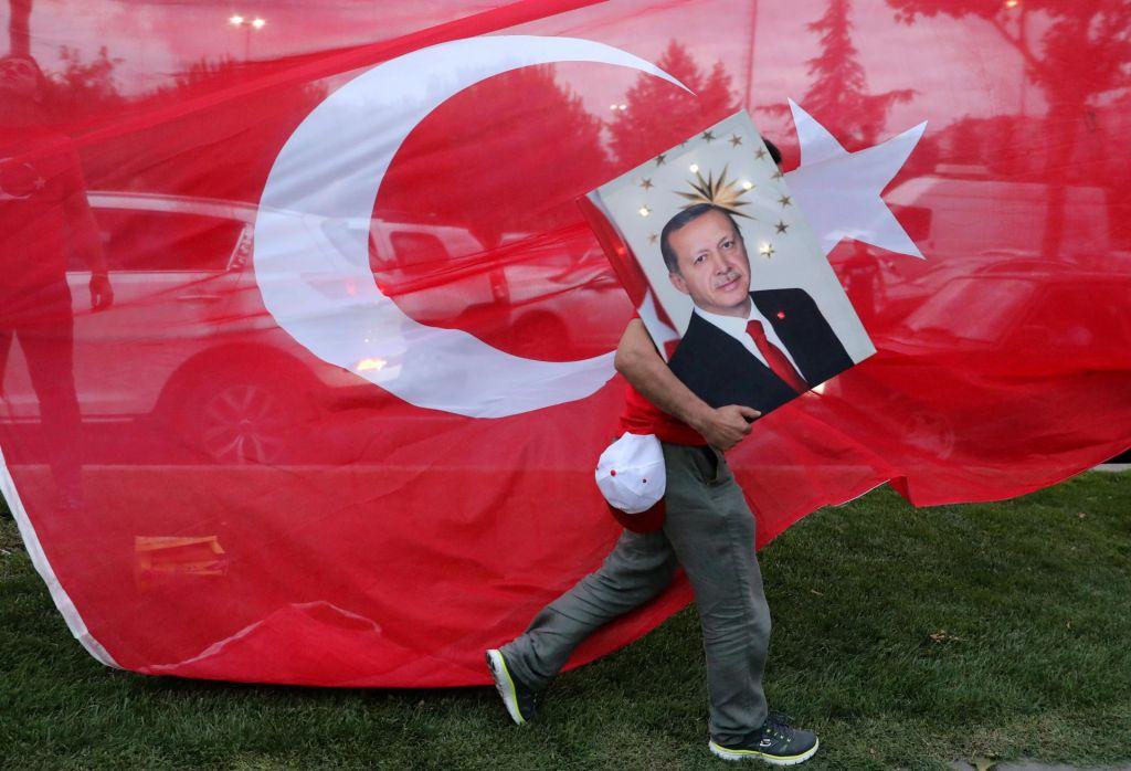 FOTO:Odprte fronte Erdoğanove Turčije