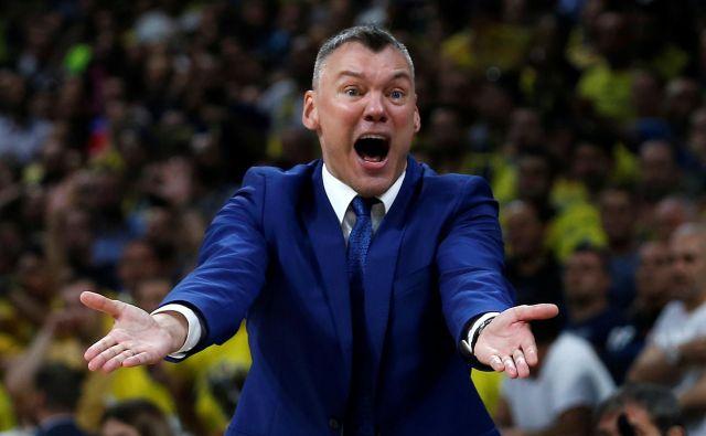 Šarunasa Jasikevičiusa je koronavirus ustavil že po prvi tekmi v evroligi. FOTO: Alkis Konstantinidis/Reuters