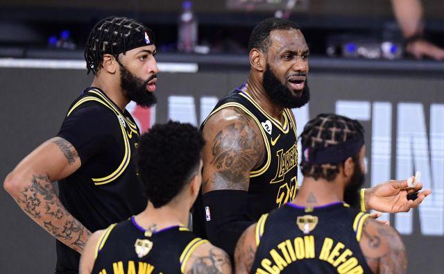 Največji košarkarski zvezdniki iz NBA se bodo najbrž izognili nastopu na olimpijskih igrah prihodnje leto v Tokiu, ker NBA ne bo prekinila tekmovanja. FOTO: Douglas P. Defelice/AFP