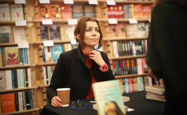 Elif Shafak je angažirana literarna in družbena aktivistka. Foto Jure Eržen