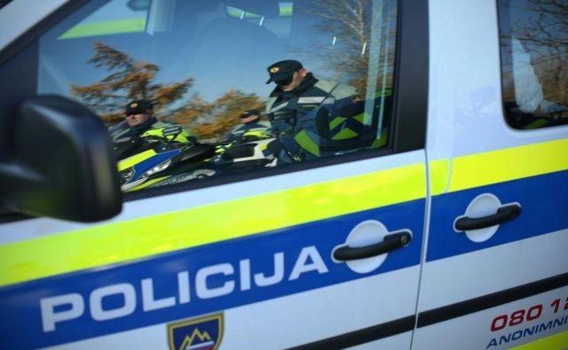 Polcija nesrečo še preiskuje. FOTO: Jure Eržen/Delo