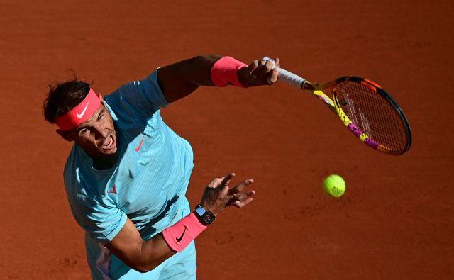 Rafael Nadal je zanesljiv. FOTO: Martin Bureau/AFP