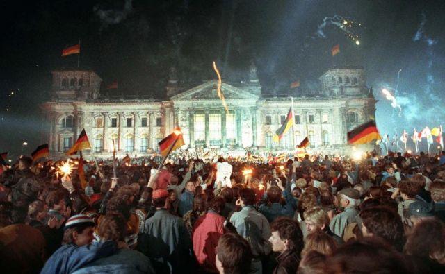 Odštevanje do leta 1990: Ponovna združitev Nemčije Foto TV SLO