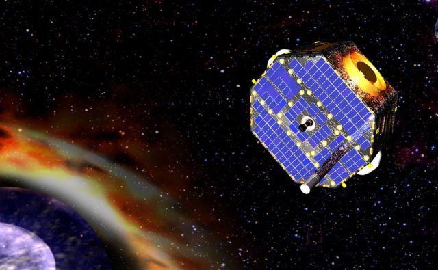 Umetniška upodobitev satelita IBEX. Foto NASA GSFC