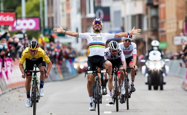 Dajmo, naš(i)! FOTO: Kristof van Accom/AFP
